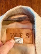 WFS KHAKI Beige fishing vest Size L 60% Cotton 40% Poly #186 image 6