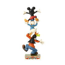 "8.75"" ""Teetering Tower "" Goofy, Donald Duck, Mickey Mouse image 2"
