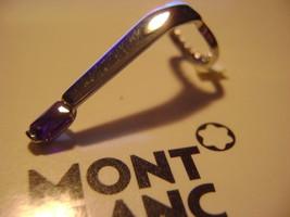 MontBlanc Boheme pen replacement spare parts Mont Blanc Pocket clip Plat... - $76.17