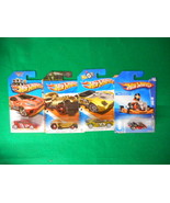 Hot Wheels In Original Package 4 Different Lot9 - $6.46