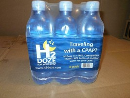 Sunset Healthcare H2Doze Distilled Water for CPAP Humidifiers 16.9 oz Bo... - $18.49