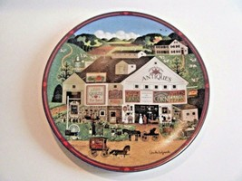 Charles Wysocki Peppercricket Farms Decorative Plate Primitive Style 1993 - $9.85