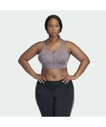 Adidas FL2220 Ultimate High Support Women's Sports Bra Purple Plus Size ... - $69.30