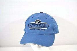 Sanctuary Golf Course Blue Baseball Cap Adjustable Back - $17.99