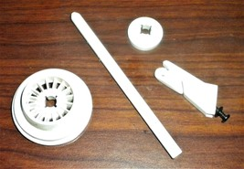 Singer Free Arm 5825 Spool Pin #312940 w/Large & Small Covers + Thread G... - $12.50