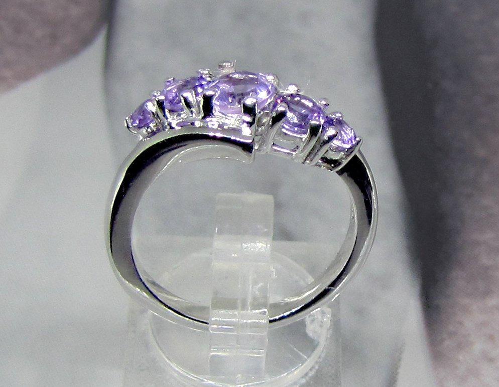 925 Sterling Silver Natural Fine Quality Heart Shape Amethyst Gemstone Handcraft image 4