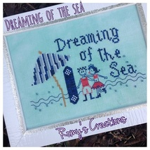 Dreaming Of The Seas cross stitch chart Romy's Creations  - $7.10