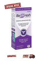 WELLCON RePHresh Vaginal Gel 4X5gr * ODOR ELIMINATING GEL * RELIEVES DIS... - $25.71