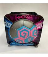 23707.P2. Glow blue soccer ball - $24.44