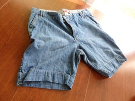 GAP Womens Denim Bermuda Blue Jean Shorts Size - $8.21