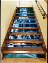 3D Wasserfall 367 Stair Risers Dekoration Fototapete Vinyl Aufkleber Tapete DE - $88.96+