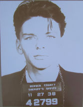 Frank Sinatra Mug Shot WB Vintage 8X10 Sepia Music Memorabilia Photo - $4.99