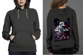 Classic Hoodie Black women Star Tropers Star Wars - $28.99