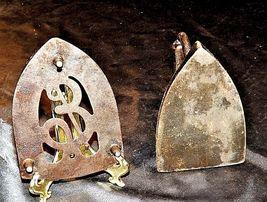 Antique 6 Sad Iron with Trivet AB 565-M image 4