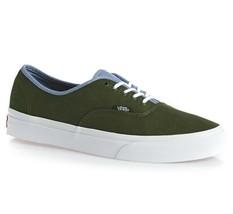 VANS Authentic (T&C) Rifle Green/Captains Blue Men's Skate Shoes SIZE 11.5 - $49.95