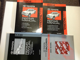 2002 toyota tacoma truck service repair workshop manual set with ewd + t... - $395.99