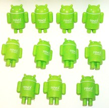 11 LOT ALIEN ANDROID ROBOT SHAPE PRE-PRINTED TOY STRESS RELIEF BALL OR R... - $15.67 CAD