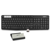 Logitech K375s Muli-Device Bluetooth/2.4GHz Wireless Keyboard &Smartphon... - €39,46 EUR