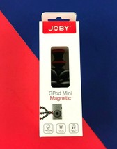 Joby GPod Mini Magnetic Tripod Black/Gray/Red - Flexible Legs Grip #2724 - $18.61