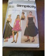 Simplicity 5452 Size R5 14,16,18,20,22 6 dresses made easy - $9.99