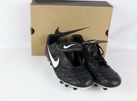 Vintage 90s Neuf Nike Hommes 12.5 Tiempo Premier 3 M TPU Cuir Chaussures - $185.19