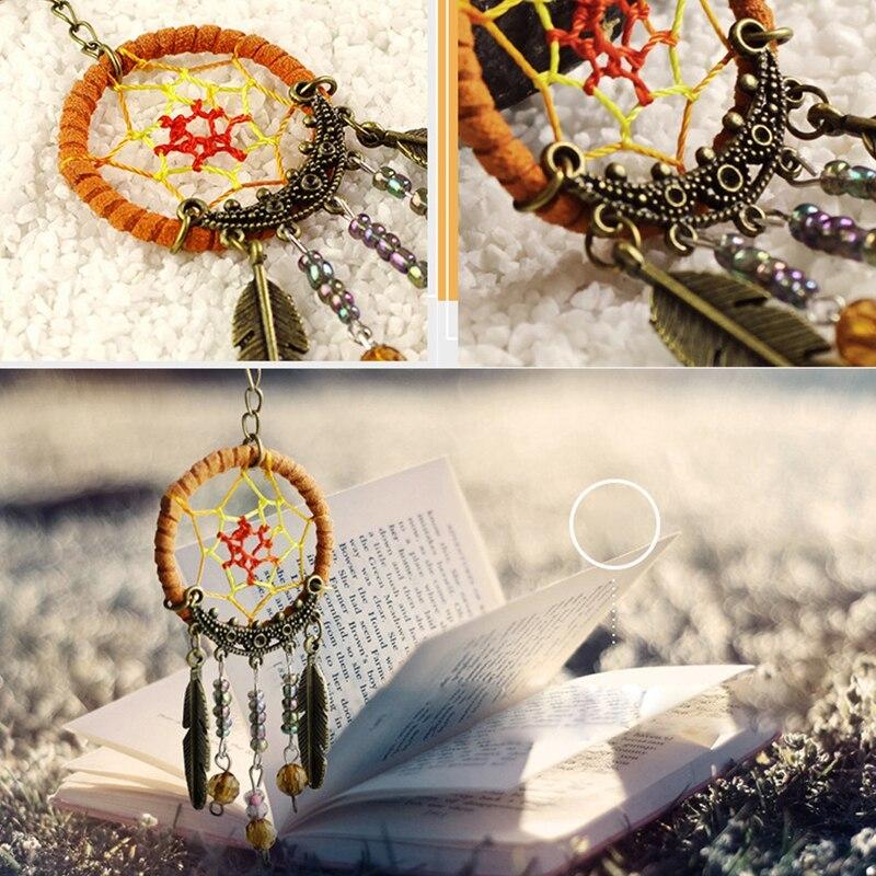 2pcs/set Dreamcathcer Key Chain Handmade Key Ring Dream Catcher Keychain Vintage