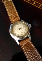 Elgin military watch stainless screw back - $95.00