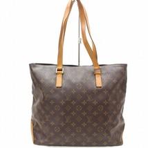 Louis Vuitton Brown Monogram Genuine Leather Mezzo Tote Bag Handbag 32748-B - $716.34