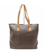 Louis Vuitton Brown Monogram Genuine Leather Mezzo Tote Bag Handbag 32748-B - $716.34