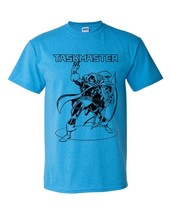 The Taskmaster T-shirt retro supervillian comic vintage style heather blue tee image 2