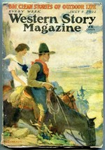 Western Story Magazine Pulp July 8 1922- Stephenson cover VG - $94.58
