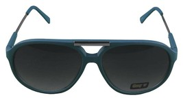 NEW Quay Eyeware Australia 1489 Matte Blue 100% UV Sunglasses Sunnies Shades