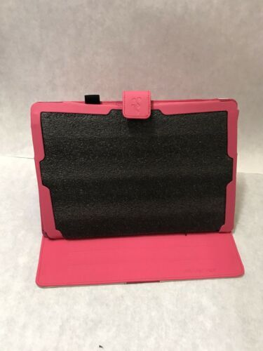 Primary image for Protective Case Microsoft Surface Pro 3 Tablet Manvex Pink White Leather