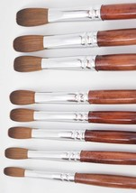EX Kolinsky Acrylic Nail Brush For Manicure Powder (CRIMPED) - Choose yo... - $18.00+
