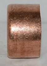 Nibco 617 4  Wrot Copper End Cap Four Inches By Two Plus Inch image 4