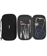 Healthstar Stethoscope Case - Large - Hard Protective Carry Case with Ha... - $10.15