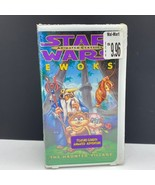 Star Wars VHS animated classics sealed tape cartoon 1985 Ewoks haunted v... - $22.77