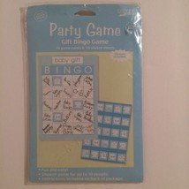 Paper Art Baby Shower Gift Bingo Game 10 Game Cards & 10 Sticker Sheets - $5.90