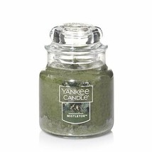 Yankee Candle Small Classic Jar Scented Candle Mistletoe 3.7 Ounce 20-30... - $12.00