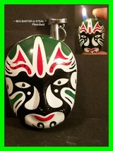 Unique Neat Chinese Colorful Cigarette Lighter ~ In Working Condition - $14.54