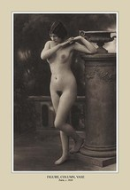 Figure, Column, Vase - Art Print - $19.99+