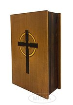 Bible Book Box Polish Handmade Linden Wood Bible Book Box Holder - $32.66
