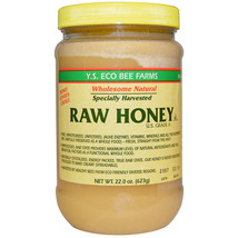 Y.S. Organics - Raw Honey - 22 oz - $16.00