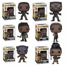 Funko POP Marvel Movie Black Panther -ERIK -SHURIi -NAKIA -Action Figure... - $32.14
