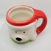 Holiday Mug Christmas Polar Bear, Ceramic Dolomite, 15oz, Royal Norfolk image 4