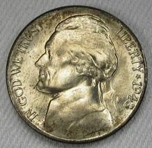 1943-S Silver 4 Steps Jefferson Nickel Nice Original Bloom GEM+ UNC AD689 - $23.15