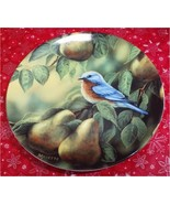 "Rosemary Millette Songbirds Bluebird Blue Bird 8"" Collector PLATE Wild W... - $19.99"