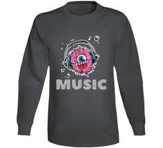 Monster Music Head Phones Long Sleeve T Shirt image 1