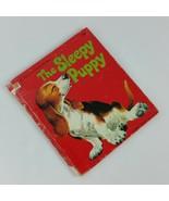 The Sleepy Puppy 1961 Walt Disney Productions Tell a Tale Childrens Vint... - $59.99