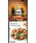 1 Jack LaLannes Power Juicer Recipes Healthy Living & 2 Power Juicer : S... - $39.49